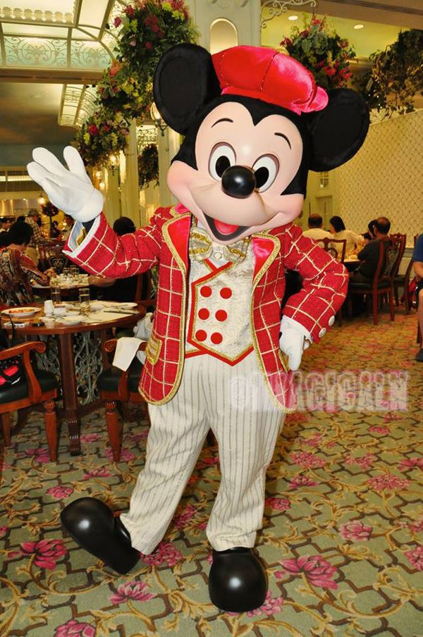 HKDL2013★12/9:Enchanted Garden Restaurant|imagical days 〜Disney Parks Travel Logs〜
