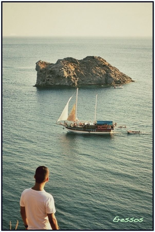Eressos, Island Of Lesvos, Greece