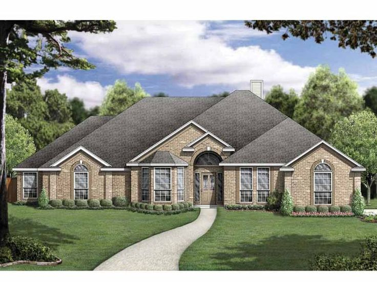 9 best 200000 Dream House Plans images – Traditional House Plans One Story