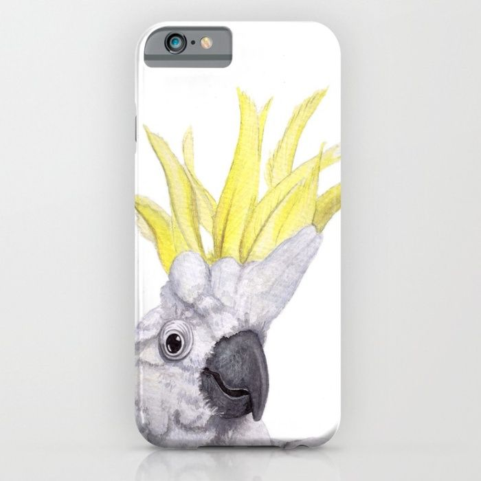 Cockatoo iPhone & iPod Case by The Willow Wood Studio   Society6