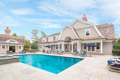 A dream vacation home in Bridgehampton! Luxurious, newly constructed 10,000 s.f. house with 7 bedrooms, 9.5 baths, 4 fireplaces, 2-car garage, media room, gym, finished basement, gunite pool and pool house, and all the amenities on 1.10 acres in the heart of farm country, Bridgehampton South. Quick to the village, quicker to the beach. Available for the summer. Contact Linda Batiancela, Licensed Associate Real Estate Broker, 631.537.3200.  #realestate #properties #realestateagent…