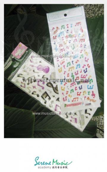 00045-Musical Sticker