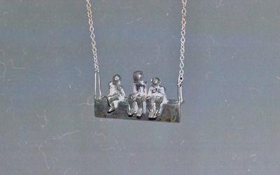 Adelina Petcan Sterlin Silver Pendant