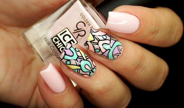 Nails Revolutions by Alicja Fik: GOLDEN ROSE ICE CHIC - 79