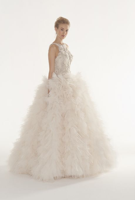 breathtaking  Langner Couture - Fall 2013 | Wedding Dresses Photos | Brides.com