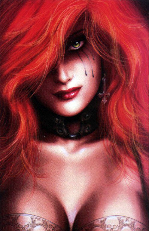 Dawn the redhead