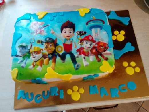 Compleanno pawpatrol