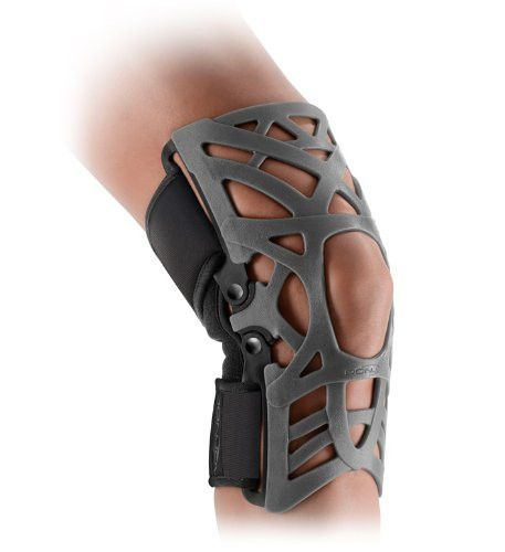 The Donjoy Reaction Knee Brace provides the latest in pain relief for a variety of patients suffering from anterior knee pain. The brace features a unique webbed design on the front made from a flexib