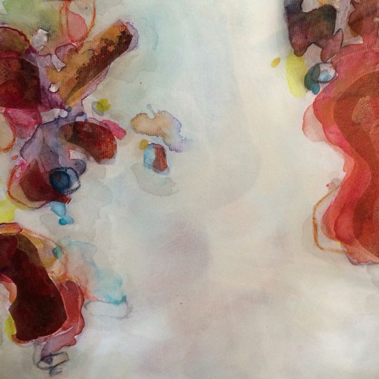 """Kate Ryckman  2015"""" True to You"""" Mixed Media on Canvas with Art Resin"""