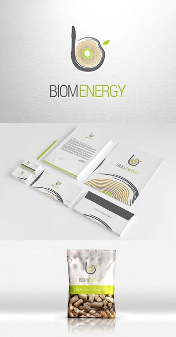 Create a brand identity pack for a Bio Fuel company - Company Name -Biom Energy by ilya sleptsov