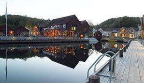 Das Farsund Resort bietet Unterkünfte und Angelerlebnisse. - Foto: Visit Sørlandet