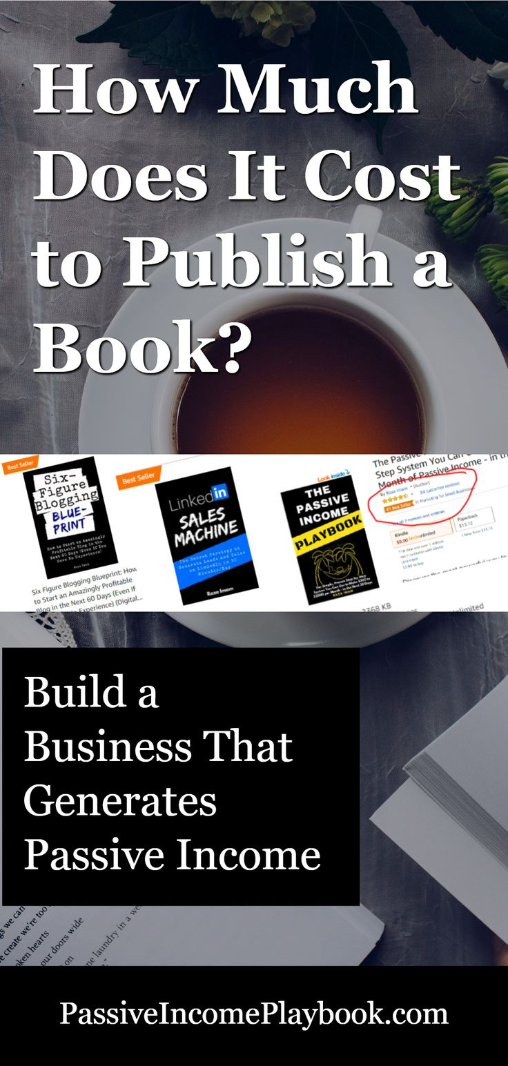 How Much Does It Cost to Publish a Book? Zero if you are ...