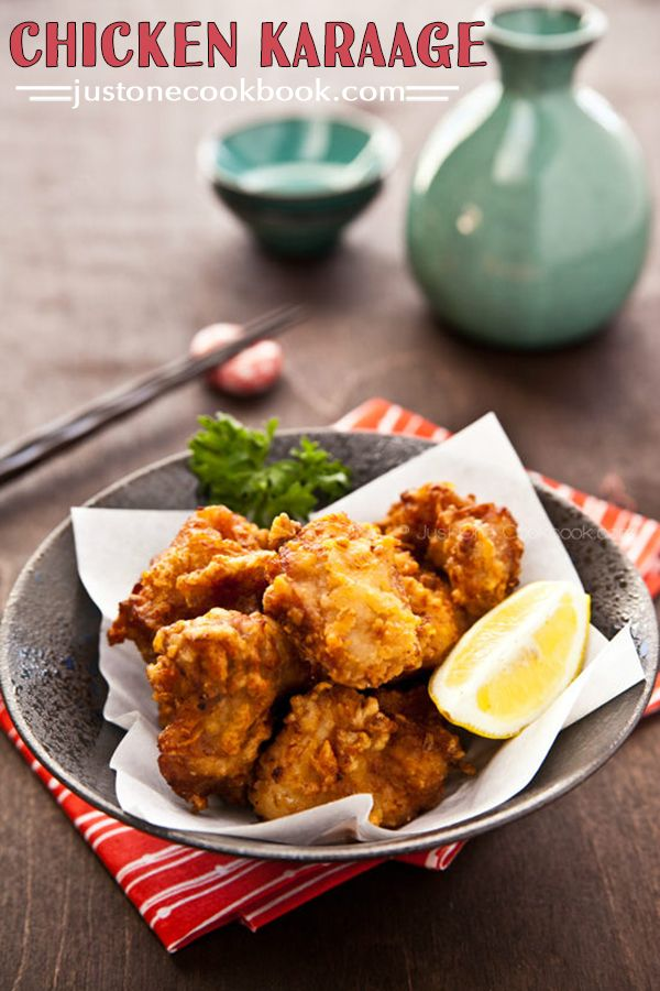 Chicken Karaage (鶏の唐揚げ)   Easy Japanese Recipes at JustOneCookbook.com