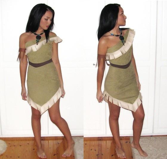 Pocahontas-costumePocahontas Disney Costume Child