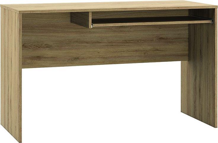 BEST 12 BIURKO - biurko komputerowe, uniwersalne, montowane jako lewe lub prawe Mebel z płyty laminowanej, o nowoczesnym i funkcjonalnym kształcie. BEST 12 BIURKO wchodzi w skład mebli systemowych BEST