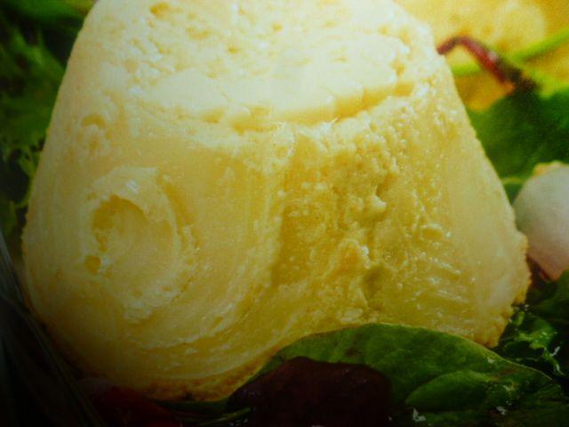 sformato di finocchi - con insalata mista