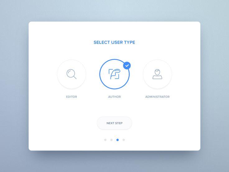 Select Page UI Inspiration — Muzli -Design Inspiration