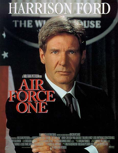 """Air Force One"" ~ Harrison Ford & Wendy Crewson 1997"