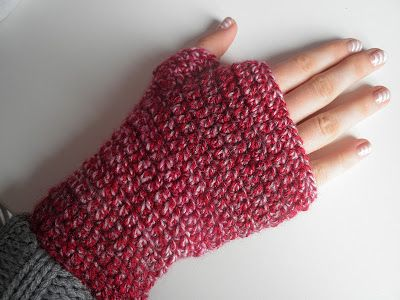 HaakZaken: Gehaakte handschoenen zonder vingers