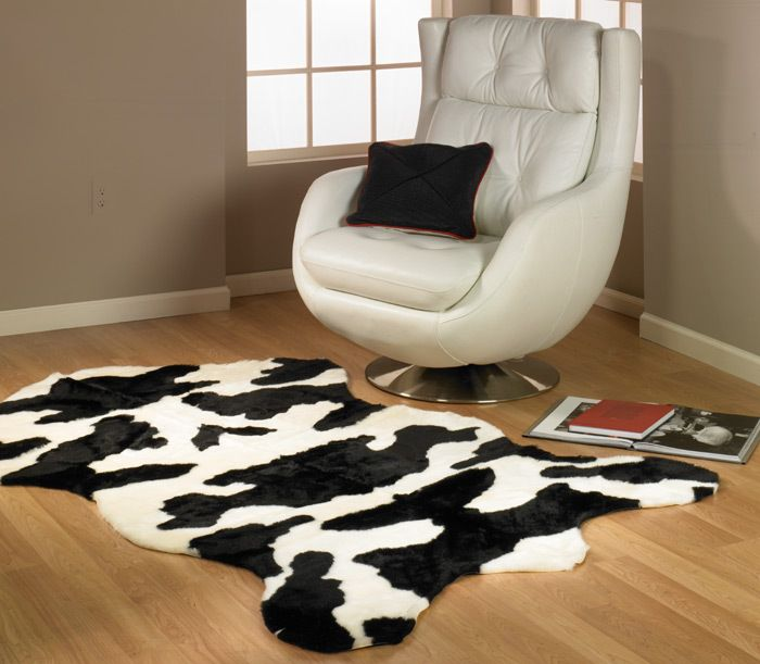 Cow Print Rug Faux Rugs Planet