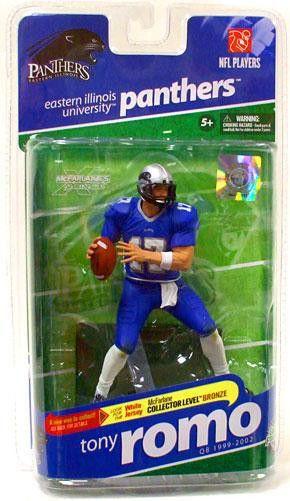 McFarlane Toys NCAA College Football Sports Picks Series 2 Tony Romo Action Figure [Blue Jersey]