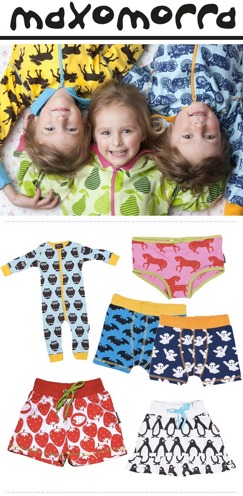 Maxomorra: Bold Scandinavian Fashion & Accessories For Kids.