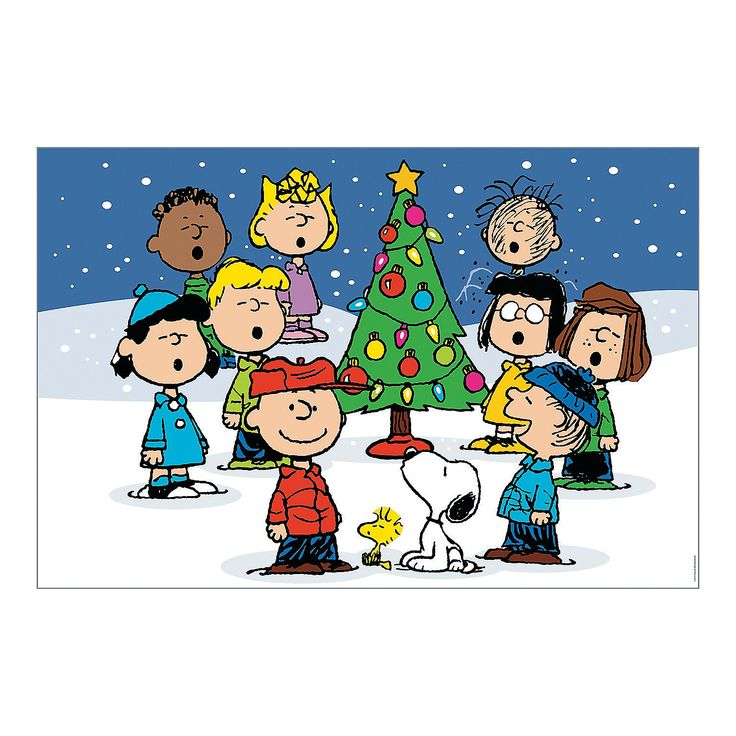 Peanuts Christmas Backdrop Banner - $19.99 9 ft. x 6 ftOrientalTrading.com