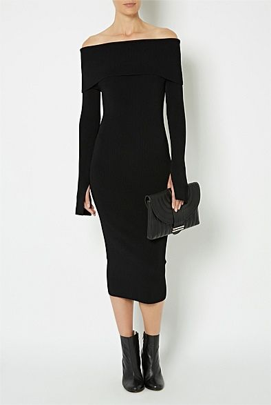 #WITCHERYSTYLE Women's New In Clothing & Fashion | Witchery Online - Off Shoulder Dress
