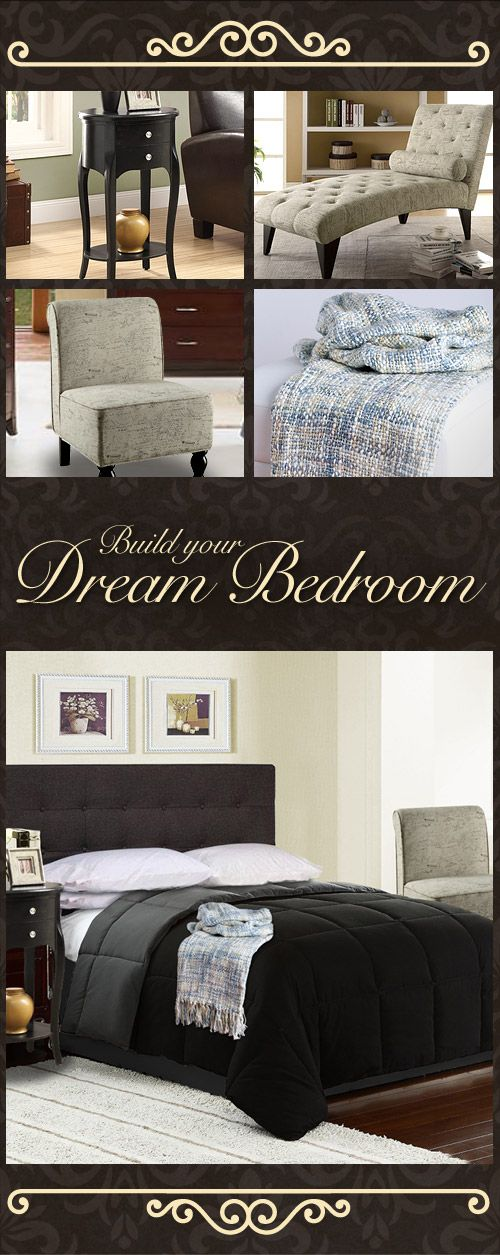 We'll always have Paris! Bring a touch of French flair into your home with a Parisian inspired bedroom. Shop the whole look – from headboard to chaise lounge – and build your dream bedroom now at Sleepys.com!