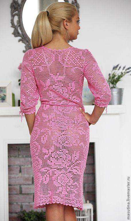 "Dress ""rosette"" from Olesya Masyutin .. Discussion LiveInternet - Russian Service Online Diaries"