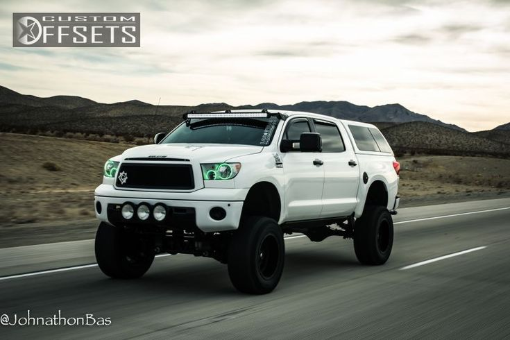 lifted tundra - I need it for camping. LOL!!!