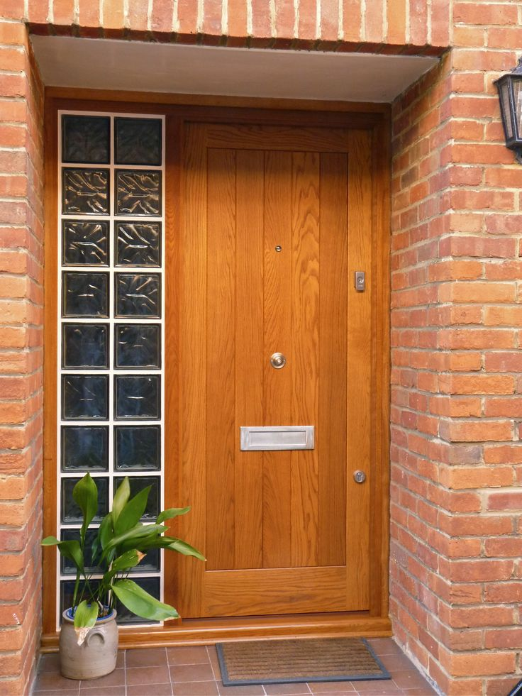 10 best natural finish wooden doors images on pinterest for Natural wood front door