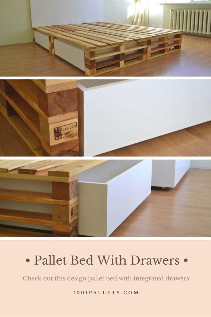 Simple Pallet Bed Simple Pallet Bed Bed Diygardeneasysimple Pallet Simple In 2020 Holzpaletten Bett Diy Palettenmobel