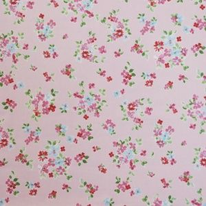 Posie Vintage 100% cotton 137cm 63.7cm Curtaining