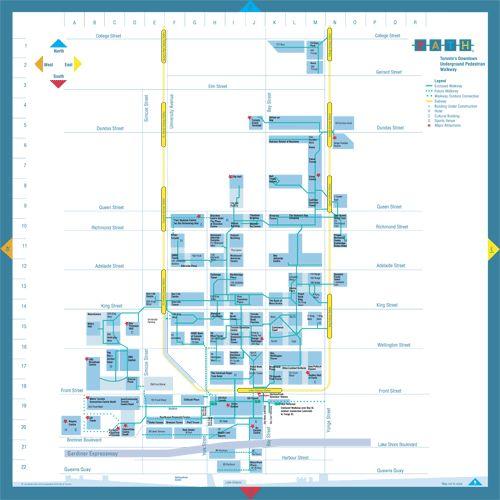 PATH - Toronto's Downtown Underground Pedestrian Walkway - Getting Here & Around - Visitor Information Services   City of Toronto