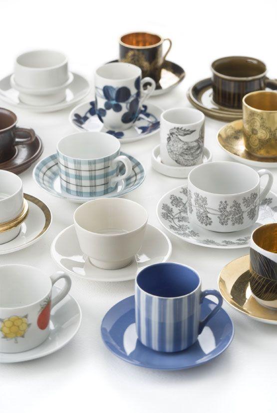 Arabia of Finland coffee cups
