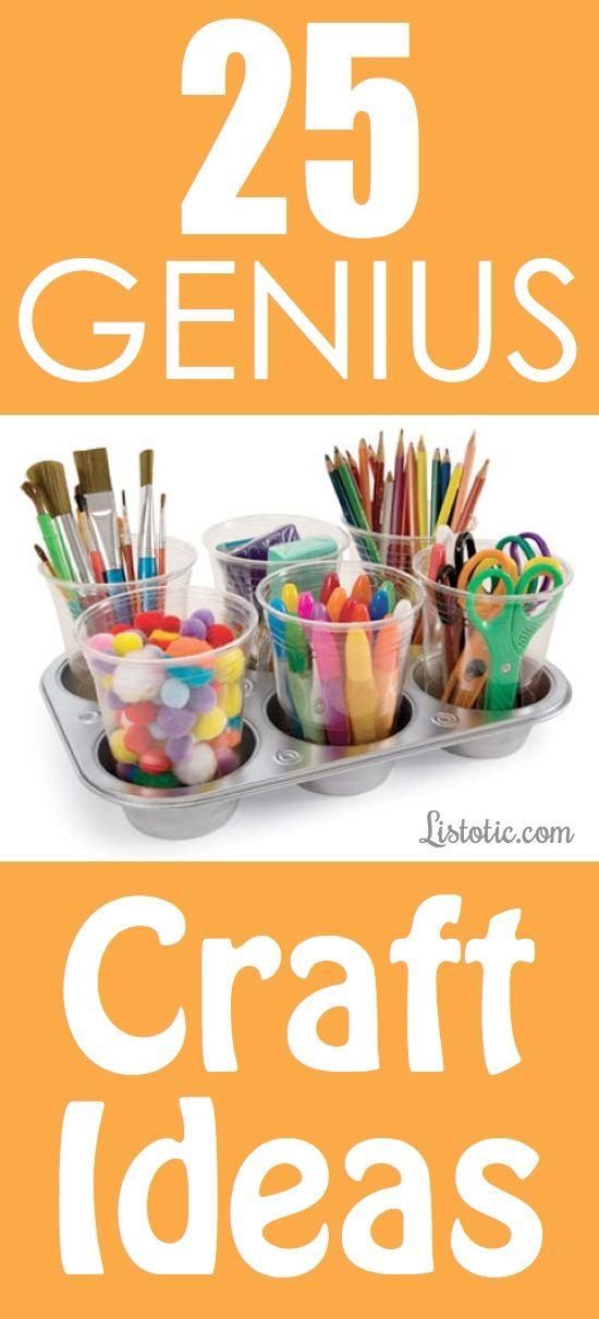 25 Genius Craft Ideas (with pictures)