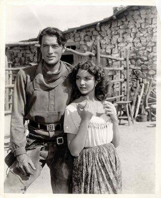 """""""Duel in the Sun"""" (1946) - Gregory Peck & Jennifer Jones"""