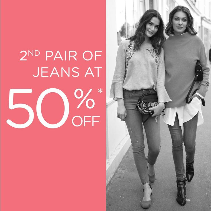 50% Off on Your Second Pair of Jeans @ Promod Trinoma #DealsPinoy