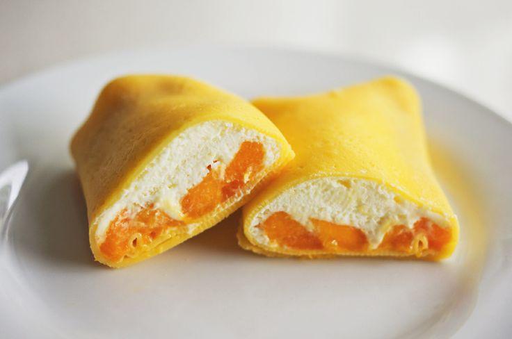 mango pancakes | eat your teacup | Yum! | Pinterest