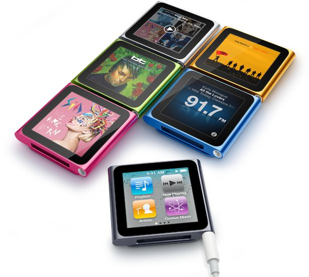 Apple iPod Nano 6st generation #my #third #one in exchange for my first iPod Nano by Apple. Was a very nice deal. For my 1GB iPod Nano 1st generation a got an iPod Nano 6st generation with 8GB.