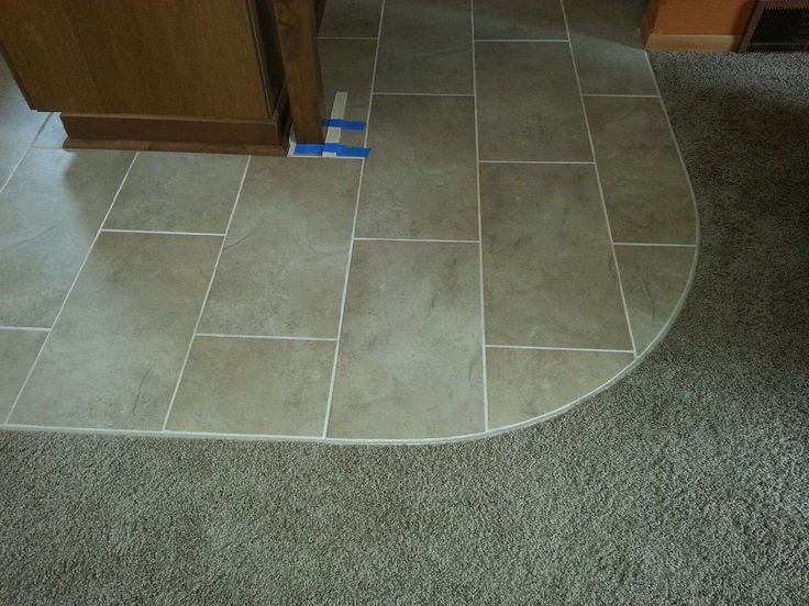 Transition From Carpet To Tile Tile Pinterest