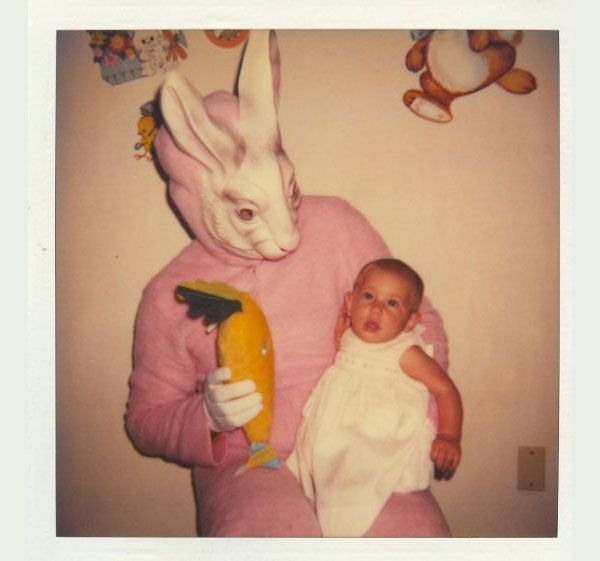 Evil easter bunny pics.
