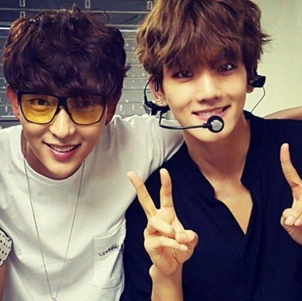 Baekhyun e Lee Jun Ki (Ator) - EXO