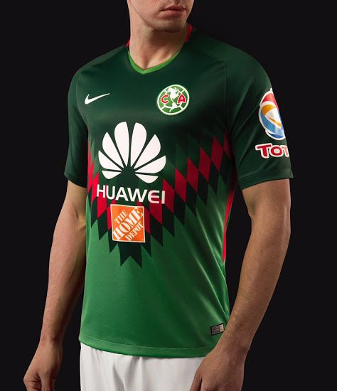 Stunning Mexico-Inspired Nike Club America 2018 Fourth Kit Released - Footy  Headlines