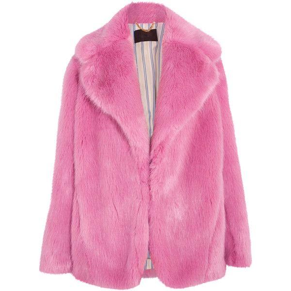 Best 25  Pink faux fur coat ideas on Pinterest | Pink fur coat ...