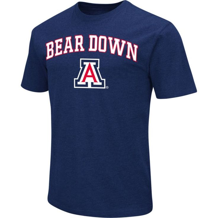 Colosseum Athletics Men's Arizona Wildcats Navy Team Slogan T-Shirt