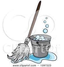 bucket and mop sketch - Recherche Google
