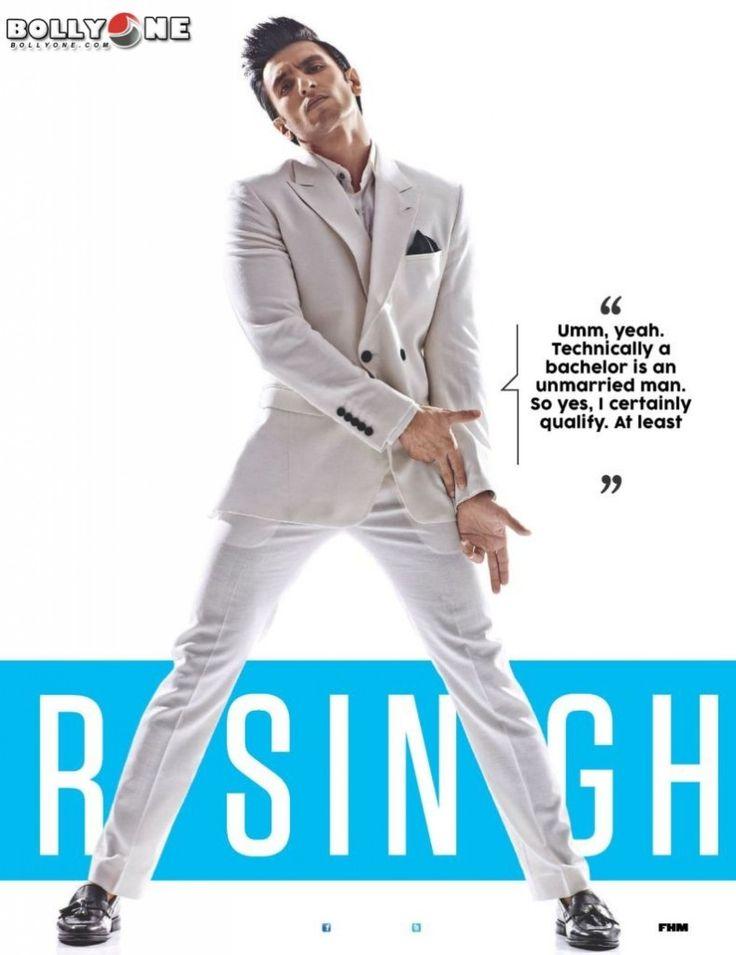 Ranveer Singh FHM India