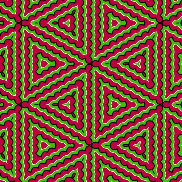 Trippy Pulsating Color Illusion - http://www.moillusions.com/21583-2/